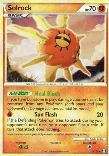 Solrock card for Triumphant