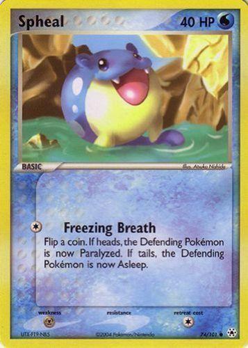 Spheal card for EX Hidden Legends