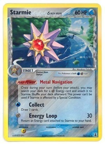 Starmie card for EX Delta Species