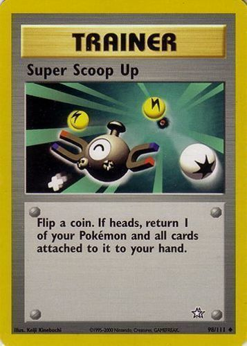 Super Scoop Up card for EX Delta Species