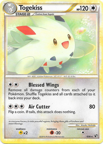 Togekiss card for Undaunted