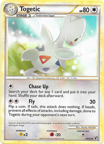 Togetic card for Undaunted