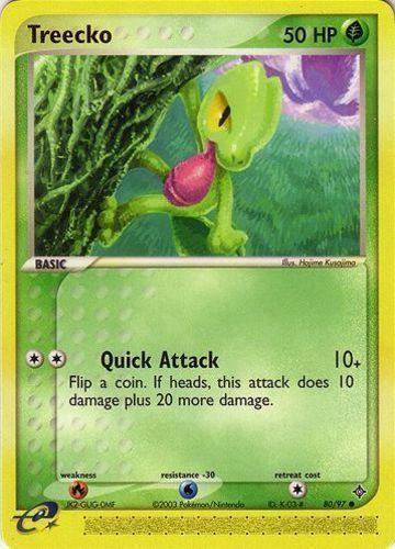 Treecko card for EX Dragon