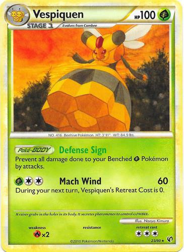 Vespiquen card for Undaunted