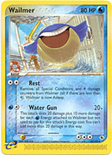 Wailmer Pokémon Card Value - Pokemon Card Price List Wailmer Pokemon Card