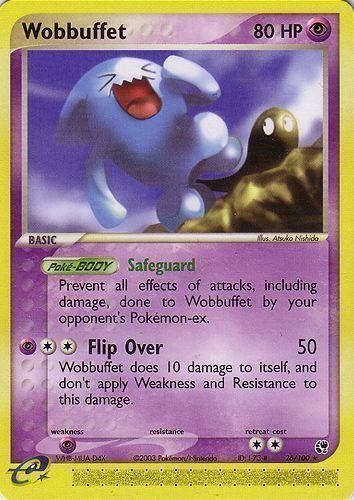 Wobbuffet card for EX Sandstorm