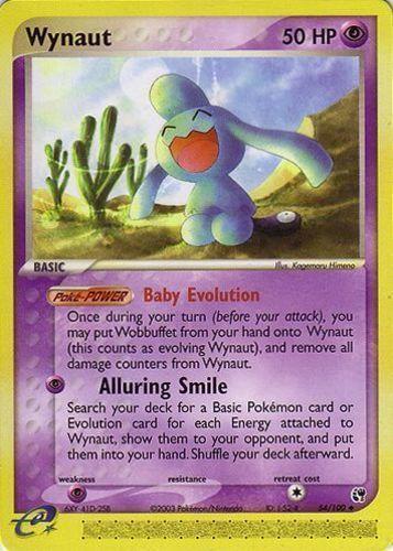 Wynaut card for EX Sandstorm