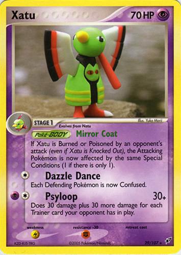 Xatu card for EX Deoxys