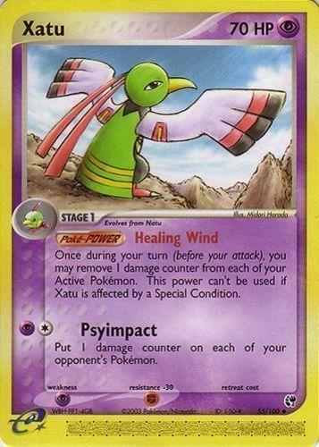Xatu card for EX Sandstorm